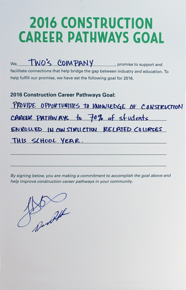 conference summary construction career pathways group goals
